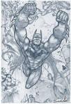 Batman Pencils