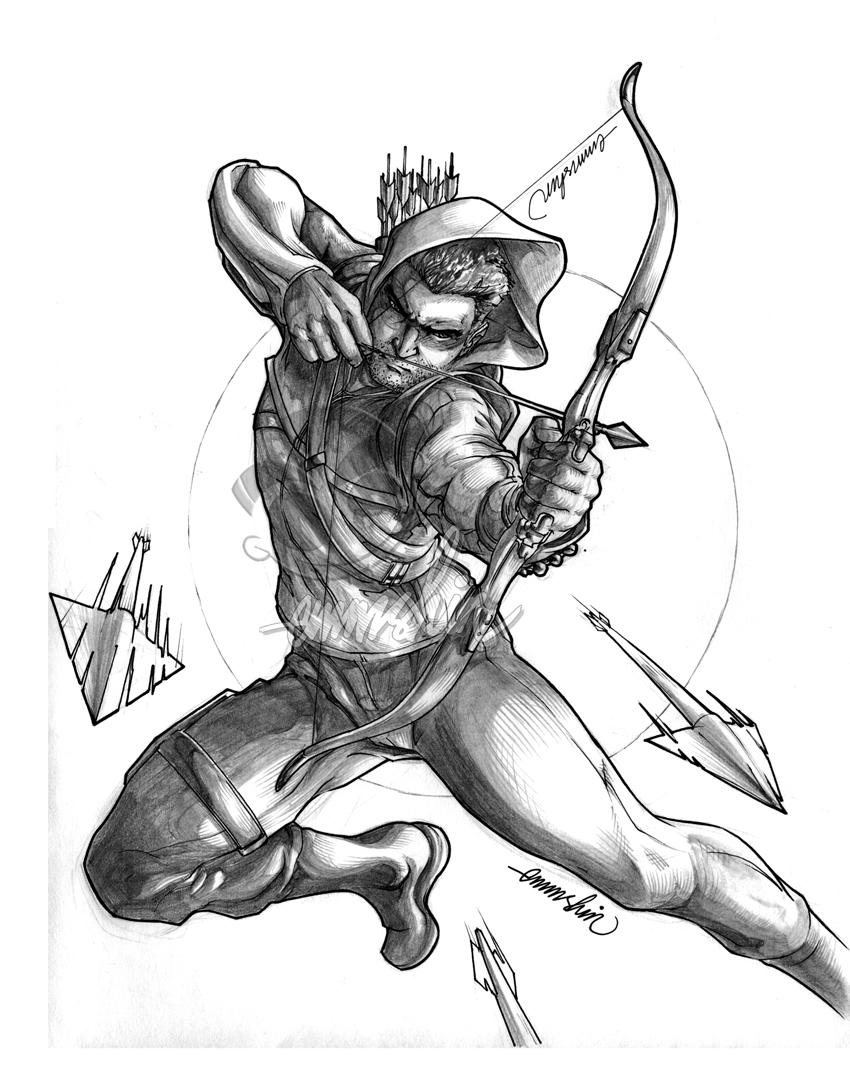 Line Art Arrow : Arrow lineart by emmshin on deviantart