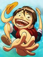 Luffy by emmshin