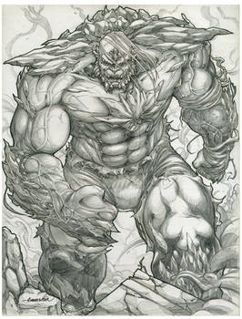 Doomsday lineart by emmshin