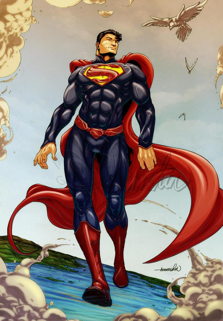 Dc Comics Fans : Superman by emmshin on deviantart