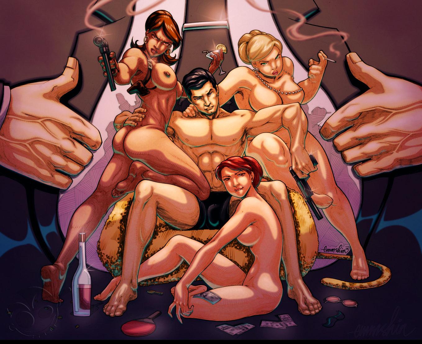 Archer tv nude sex movie