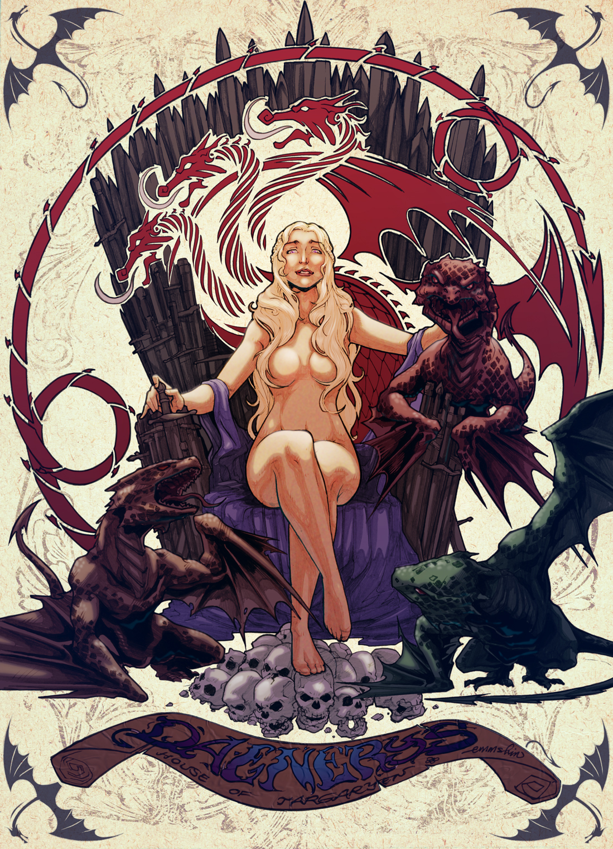 Daenerys by emmshin