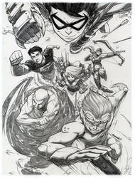 Young Justice :pencils: by emmshin
