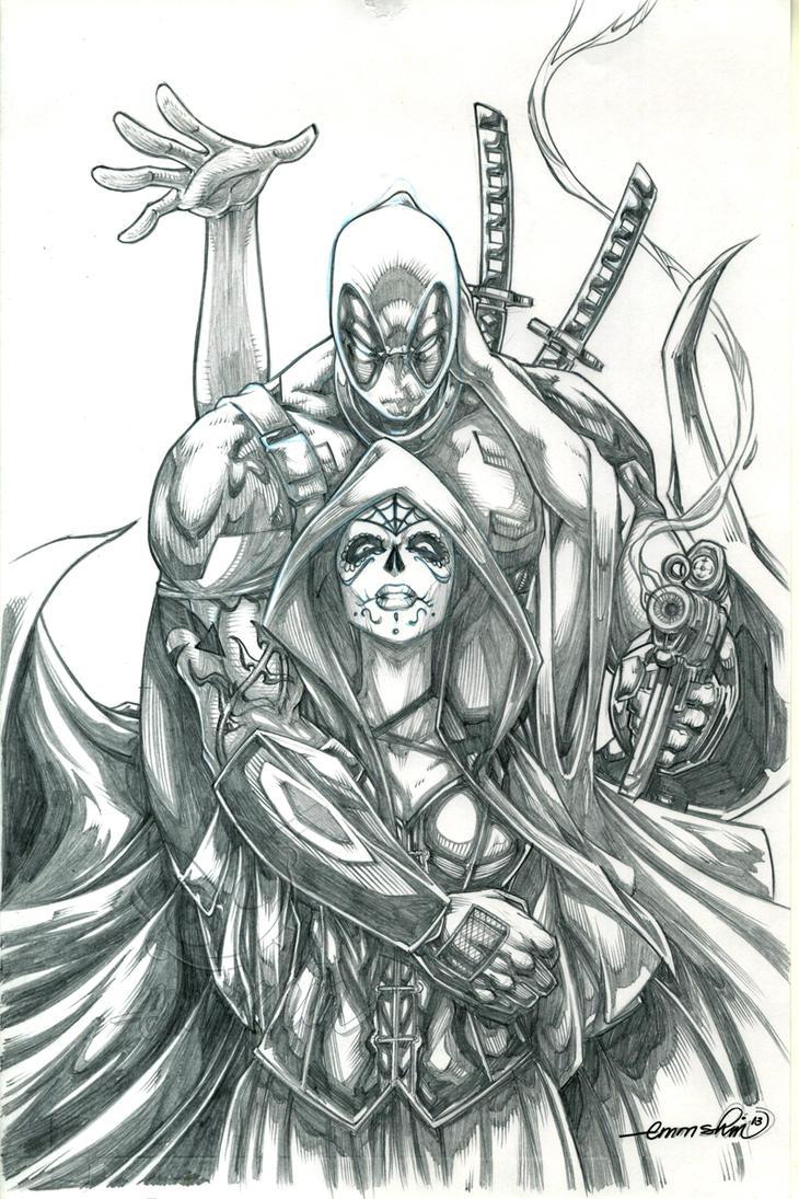 Deadpool And Lady Death Deadpool and Mistress ...