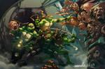 TMNT Zombie Apocalypse