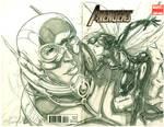 Ant-Man and Wasp BC (pencils)