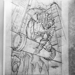 Talon Knight RS (Commission) by emmshin