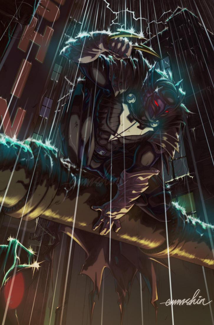Talon Knight (Commission) by emmshin
