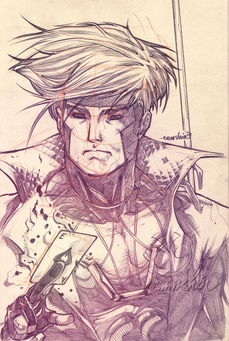 Gambit (pencils) by emmshin