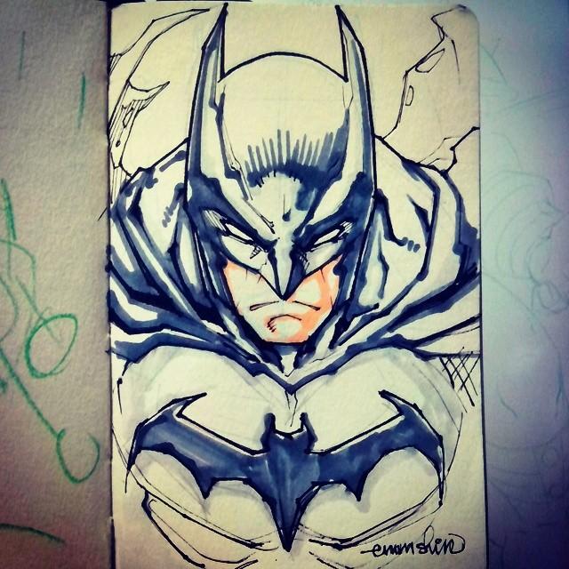 DQS Batman day by emmshin