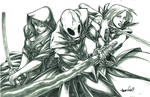 Attack of the Sith Lords (pencils)