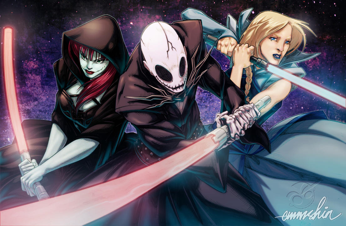 Attack of the Sith Lords by emmshin