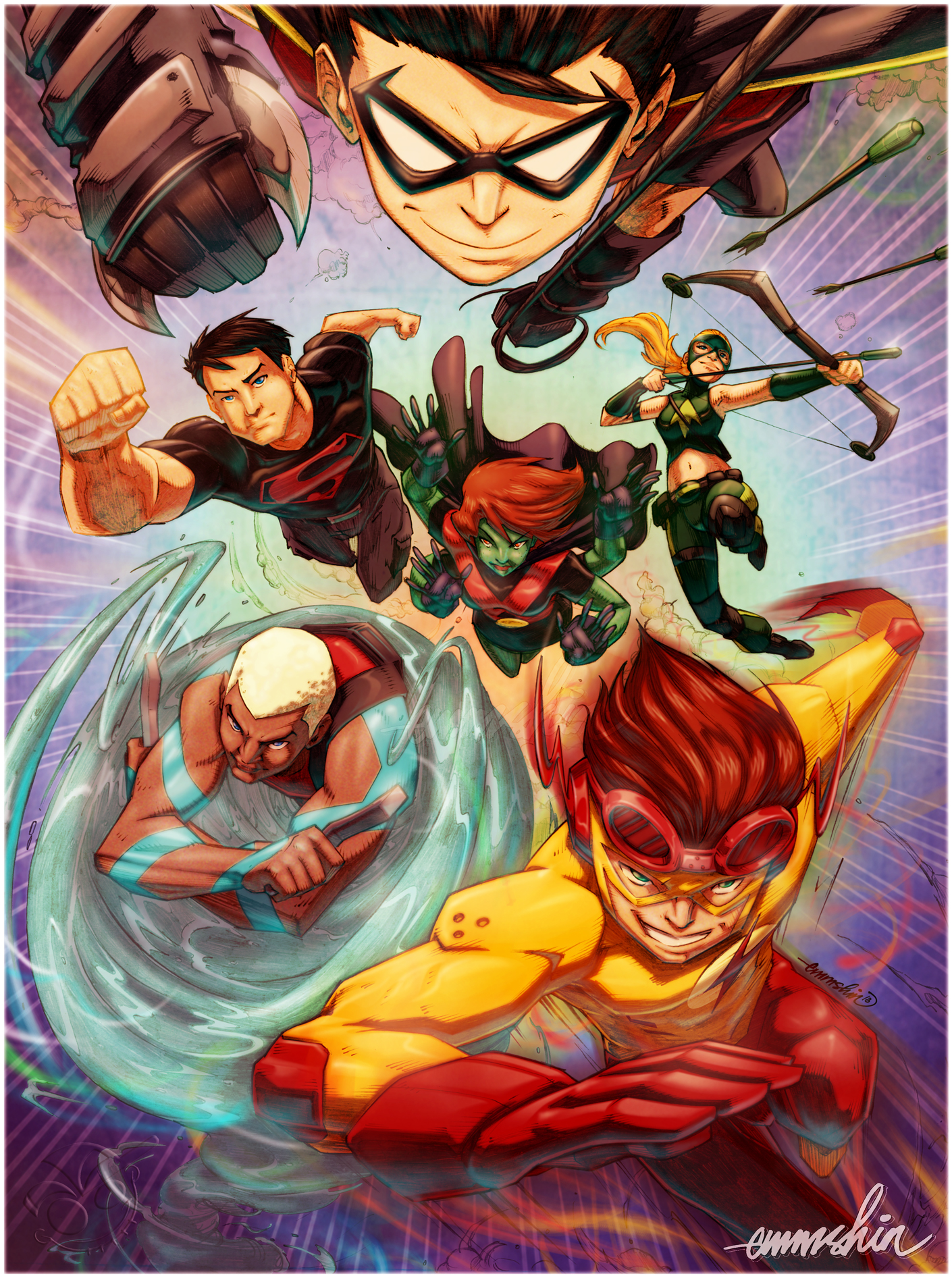 Young Justice by emmshin