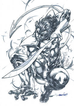 Nightcrawler (pencils)