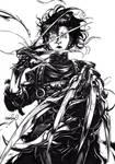 Edward Scissorhands (inks)