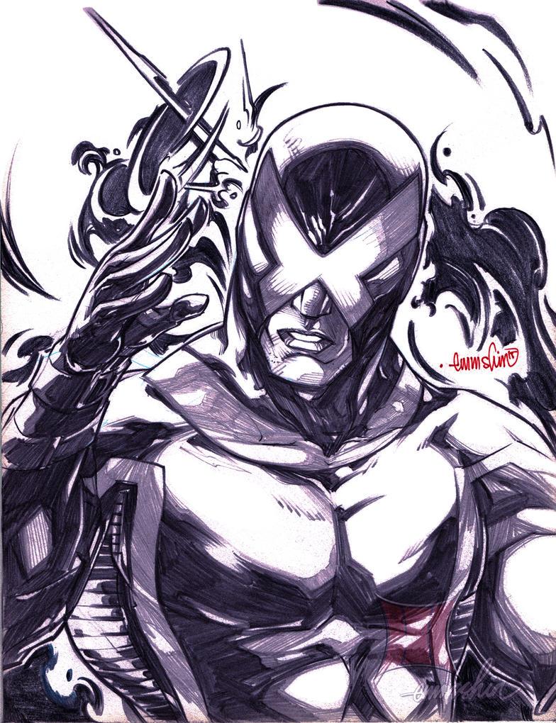Marvel Now : Cyclops (pencils) by emmshin