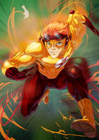 Kid Flash by emmshin