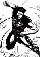 Superboy (Inks) by emmshin