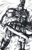 Planet Hulk 10th Anniv. (pencils) by emmshin