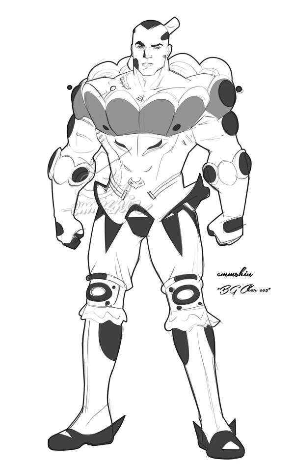 BG Char #3 (Profile) by emmshin