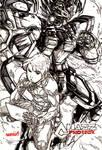 HyEarth Phoenix w/ Chazz (inks)