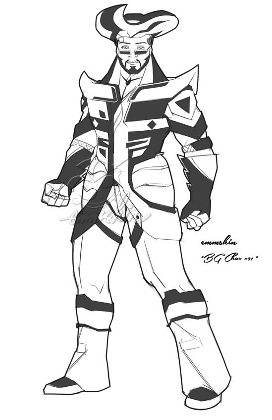 BG Char #31 001(Profile) by emmshin