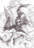 Spider-man MCU (pencils) by emmshin