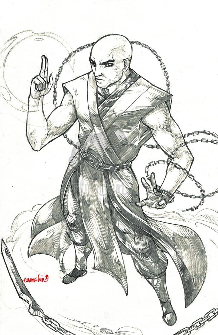 WoW Jack Demontague (pencils) by emmshin
