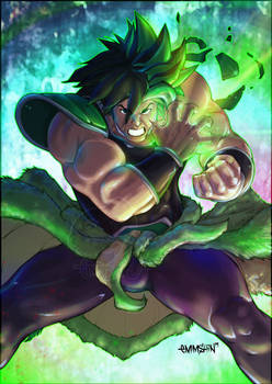 #SketchEmAll Broly