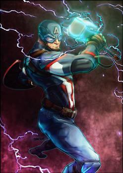#SketchEmAll Captain America