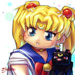 SAILOR MOON #SketchEmAll by emmshin