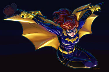 BAT GIRL #SketchEmAll