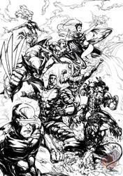 X-MEN : GIANT SIZE (Inks)