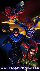 GOTHAM KNIGHTS #SketchEmAll DC Universe