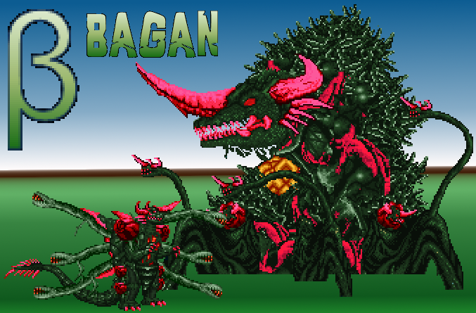 Bagan Genesis - Betagan Biollante by SpaceG92 on DeviantArt