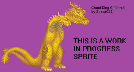 Grand King Ghidorah - Work in Progress (300th Dev)