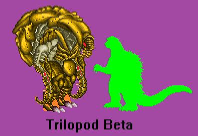 New Sprite W.I.P. - Trilopod Beta
