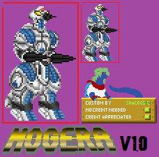 M.O.G.U.E.R.A (1994) Sprite Custom