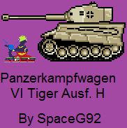 Pixel Art - Tiger H1