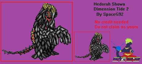 Dimension Tide 2 : Showa Hedorah by SpaceG92