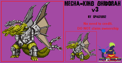 Sprite Custom - Mecha-King Ghidorah v3.