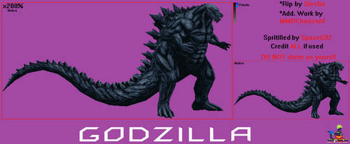 Sprite Custom - Godzilla EARTH