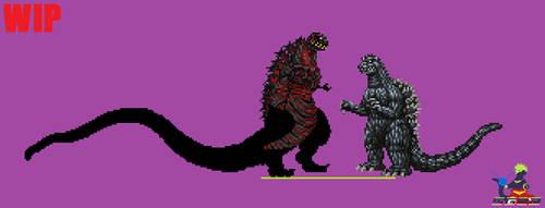 Sprite WIP - Shin Godzilla 4th v2