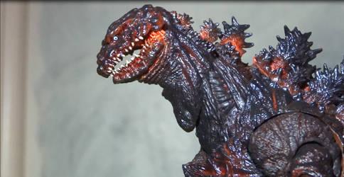 MonsterArts Shin Godzilla - Reissue #1 by SpaceG92