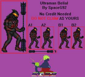 Sprite Custom - Ultraman Belial by SpaceG92