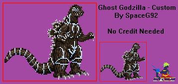 Sprite Custom - Ghost Godzilla 1.1