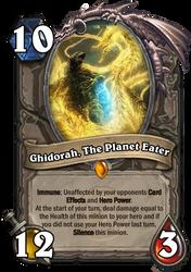 HearthFake - Ghidorah, The Planet Eater by SpaceG92