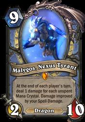 HearthFake - Malygos, Nexus Tyrant by SpaceG92