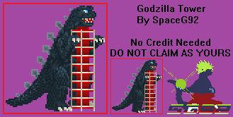 Sprite Custom - Godzilla Tower v1